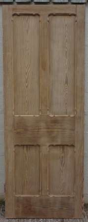 2016-01-04 Pitch pine door A-450