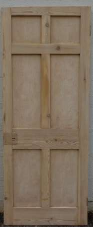2016-04-04 Georgian 6 panel door 1B-450