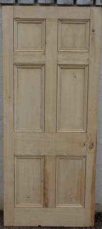 2016-04-04 Georgian 6 panel door 3A-450