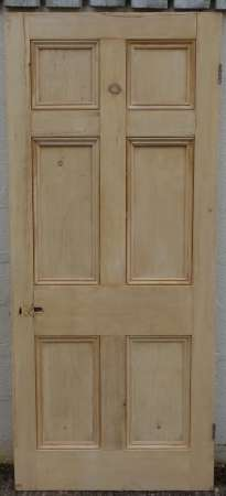 2016-04-04 Georgian 6 panel door 3B-450