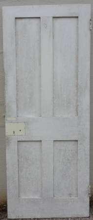 2016-10-04 Georgian 4 panel door 3B-450