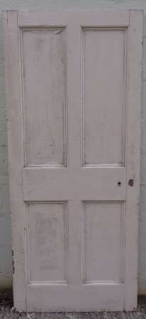 2016-10-04 Georgian 4 panel door 9A-450