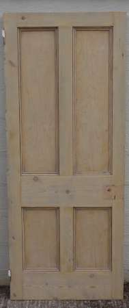 2016-10-04 Reclaimed 4 panel door 18A-450