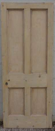 2016-10-04 Reclaimed 4 panel door 18B-450