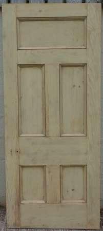 2016-10-05 5 panel pine door B-450