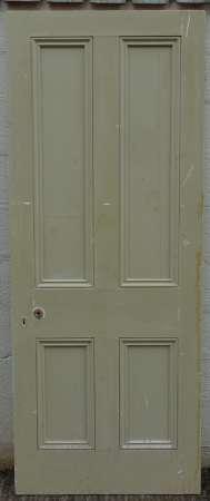 2016-11-05 Victorian 4 panel pine door 1A-450