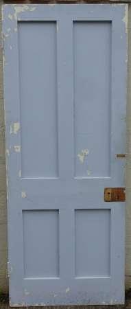 2016-11-05 Victorian 4 panel pine door 1B-450