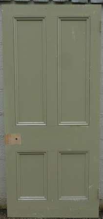 2016-11-05 Victorian 4 panel pine door 3B-450
