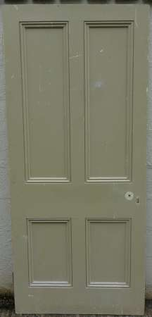 2016-11-05 Victorian 4 panel pine door 4A-450
