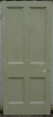 2016-11-05 Victorian 4 panel pine door 5A-450