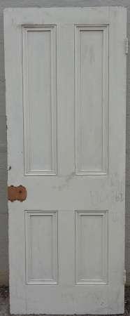 2016-18-04 Victorian 4 panel pine door 2B-450