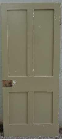 2016-20-05 Victorian 4 panel pine door 4B-450