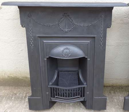 2017-17-03 cast iron combination fireplace C-450