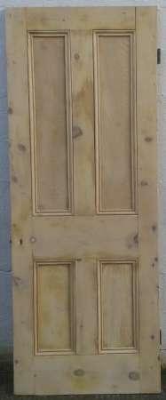 4 panel pine doors – Abergavenny Reclamation